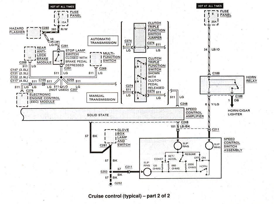 Ranger Cruise Control Wiring Today Diagram Ford Problem